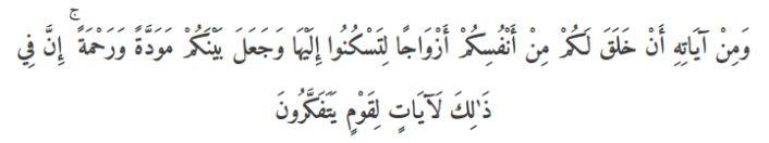 ar-rum ayat 21